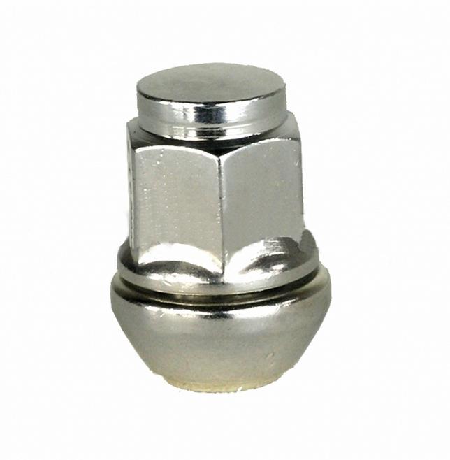 Plovoucí matice na alu kola M12x1,25 - kužel, klíč 19, výška 34mm