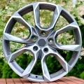 """Alu kola 17"""" na Škoda Superb 2 a 3, 17x7.5 5x112 ET40, R17 šedá + leštění"""