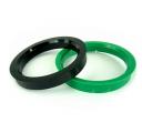 Vymezovací kroužky průměr 72,0 - 56,1mm